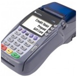 desk top credit card processing machine